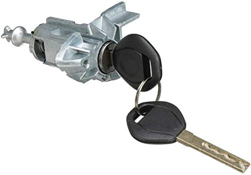 ProPlip - Cerradura + cilindro para puerta delantera izquierda compatible con BMW X5 E53 51217035421 + llaves