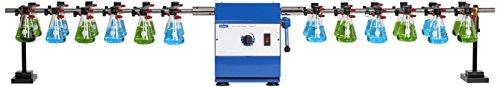 Burrell Scientific 075-775-24-36 Wrist Action Shaker, Model 75-FF, Blue/White