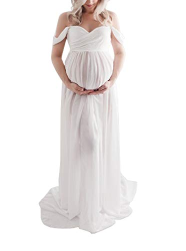 ArbresDress Sexy Schwangerschaftskleid Chiffon Fotografie Rock Mutterschaft Photoshoot Kleidung