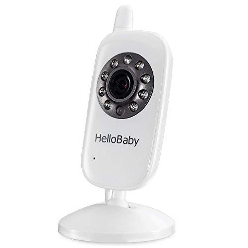 HelloBaby Zusätzliche Kamera-Kindereinheit für HB24 HB32,Paar mit HelloBaby Video- Babyphone