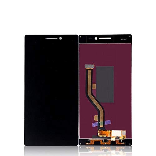 Un known Teléfono móvil reemplazable Mobile Display LCD del teléfono for Lenovo Vibe Asamblea digitalizador X2 reemplazo de Pantalla táctil Partes de máquina (Color : White)