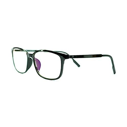 Pixel Lens Dark - Gafas para Ordenador, TV, Tablet,Gaming. contra EL CANSANCIO Ocular, Confort Visual, Montura Ligera, CERTIFICADA LUZ Azul - 41% Y UV -100% EN LA Universidad DE TURÍN