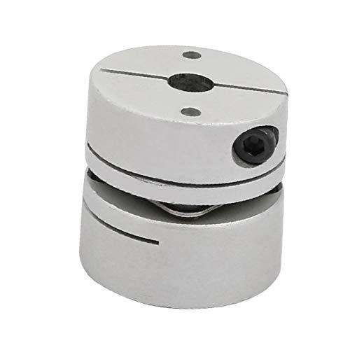 X-DREE 6 mm a 8 mm Aleación de aluminio Codificar Haz de acoplamiento Junta DIY Adaptador de eje (6mm à 8mm alliage d'aluminium encoder faisceau couplage adaptateur arbre bricolage