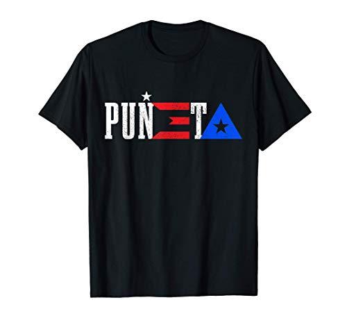 Puerto Rico Puñeta Funny Vintage Puerto Rican Flag Pride T-Shirt