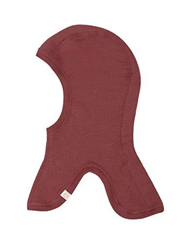Dilling Schlupfmütze für Babys und Kinder aus 100% Bio-Merinowolle Rouge 80-92