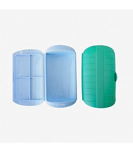 UNIVERSALBLUE Estuche de Vapor Silicona | Vaporera Azul |
