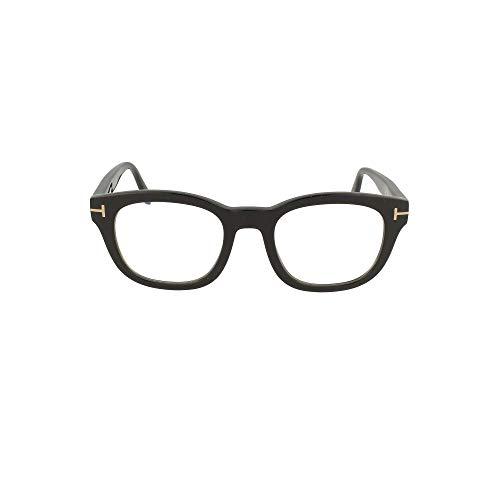 Tom Ford Occhiali da Vista uomo nero lucido lenti blu protect FT5542-B 001 50-22-145