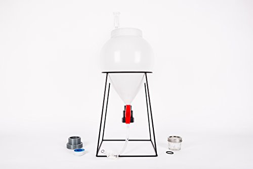 FastFerment Conical Fermenter - Home-Brew Kit - BPA Free Food Grade Primary Carboy Fermenter....