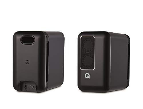 Q Acoustics Q Active 200 Bookshelf Speakers (Pair) (Black (Chromecast built-in))