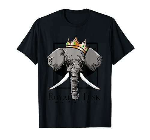 Elefante reale della zanna Maglietta