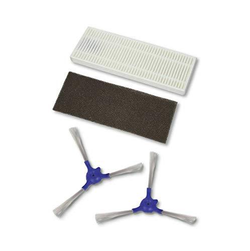 Rowenta ZR720001 - Set di 4 spazzole laterali e filtri per aspirapolvere Explorer 20 & Explorer 40