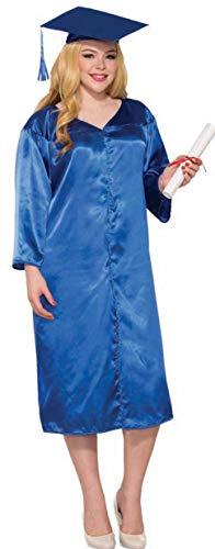 Forum Novelties Graduation Robe Adult Costume (Blue), One Size Fits Most