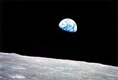 New Horizon Aviation, LLC Apollo 8 Earthrise Fine Art Print