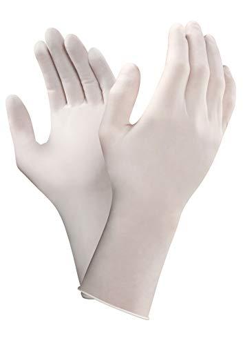 TouchNTuff 83300090–01, gants, le polyisoprène, liquide chimique et protection, Taille 9, blanc (Pack de 200)
