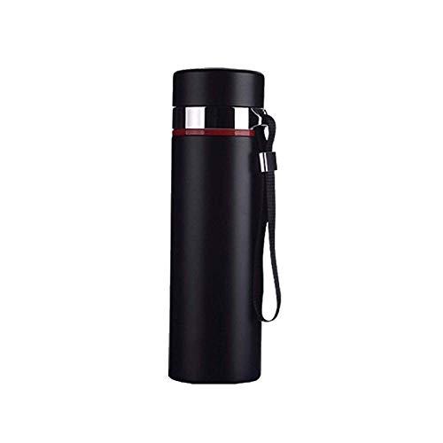 DXYSS Taza Termica con Tapa Botella de Agua del Termo Taza - Termo Beber Botella de Agua, Viajes Acompañando a la Copa, con Aislamiento de vacío de Acero Inoxidable Termo, Copa de Aislamiento