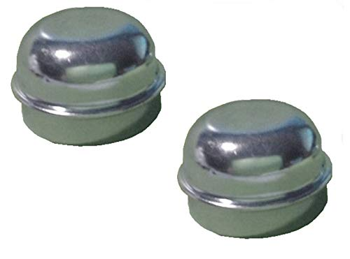 FKAnhängerteile 2 x Radkappe - Fettkappe - Staubkappe Ø 50,5 mm neutral