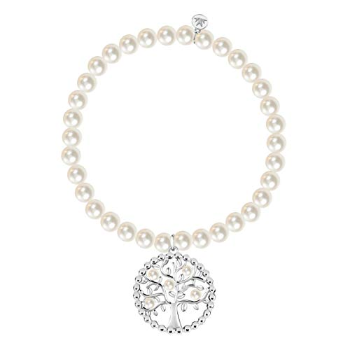 Morellato Women's Stainless steel, Stone, Pearls Bracelet, GIOIA Collection - SAER38