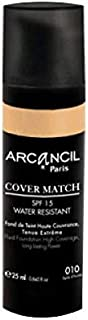Arcancil Fond de Teint Cover Match Makeup Foundation [3034641630101]