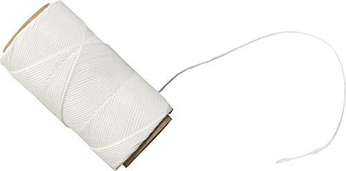 Westmark Grill- und Bratenschnur, Spezialgarn, Länge: 60 m, Ø 0,1 cm, Baumwolle, Weiß, 15232270