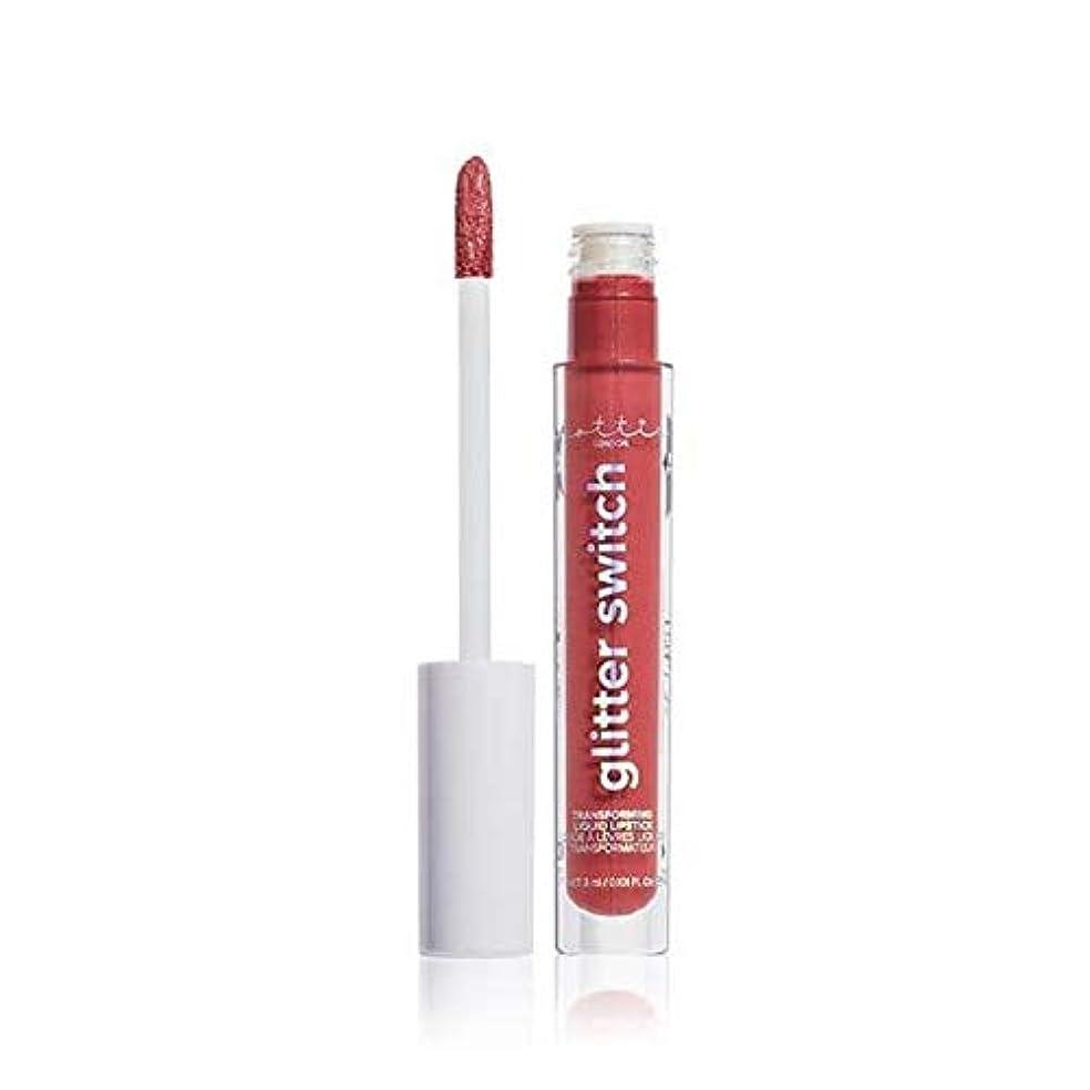 履歴書コミュニケーション競う[Lottie London] Lottieロンドングリッタースイッチは、口紅ハイローラーを変換します - Lottie London Glitter Switch Transform Lipstick High Roller [並行輸入品]