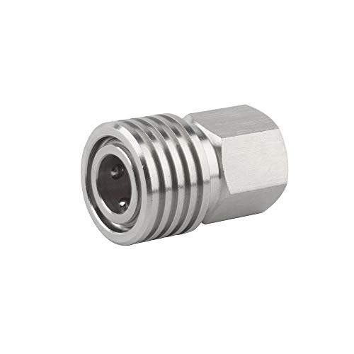 Gurlleu 1/8 inch NPT to 8MM Quick-Disconnect Adapter Stainless Steel Female Convertor Air Tool Fittings