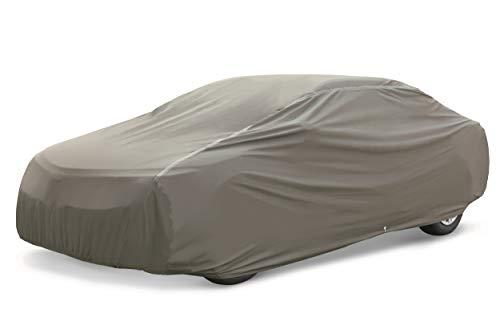 AmazonBasics Premium Waterproof Car Cover, for Cars up to 180 Inch, Mid-Size Sedan