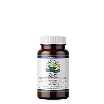 ZINC (15mg) vegetarian vegan formula (120 tablets) from Nature's Sunshine