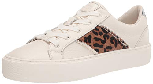 UGG Australia Damen Dinale Exotic Sneaker, Kokosmilch Leopard, 37 EU