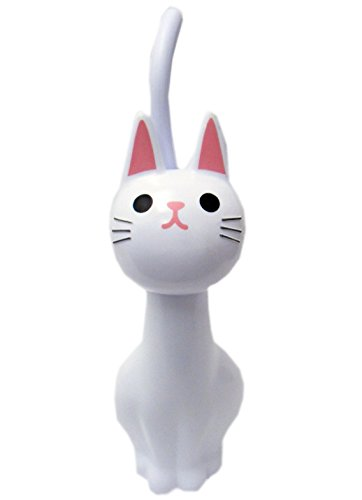 Porcelain Cat Toilet Brush Holder