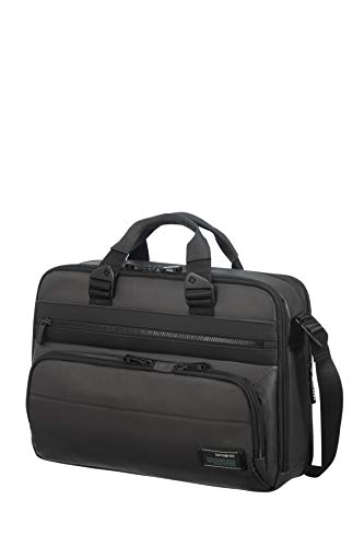Samsonite Cityvibe 2.0 Expandable Briefcase 41 cm, Jet Black (Black) - 115513/1465