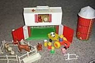 vintage fisher price farm and silo