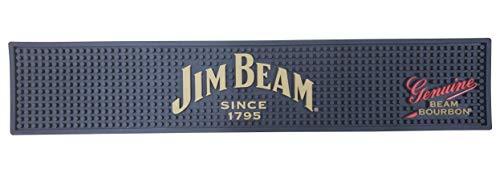 Jim Beam Since 1795 Bourbon Bar Mat Spill Mat Rail Drip Mat - 19.5' x 3.75'