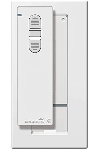 Schellenberg 20015 Smart Home Funk Handsender 1-Kanal, 868,4 MHz, Weiß, Fernbedienung für Licht, Steckdose, Rolladensteuerung