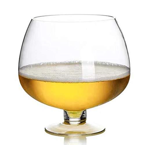 2000ml To 12000ml Super Big Crystal Glass Brandy Glasses Drink Snifters Bar Wine Surprised Drinkware (2000ML)
