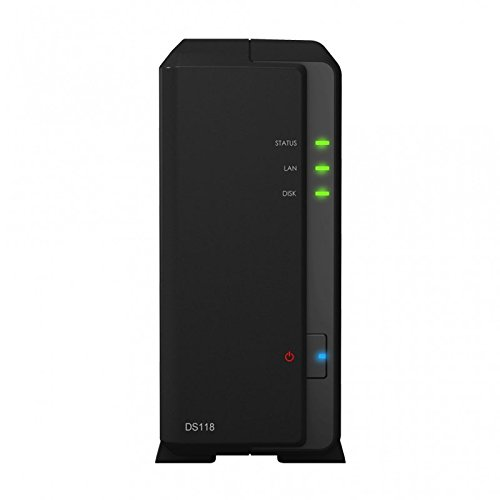 Synology DS118 1-Bay 2TB Bundle mit 1x 2TB IronWolf ST2000VN004