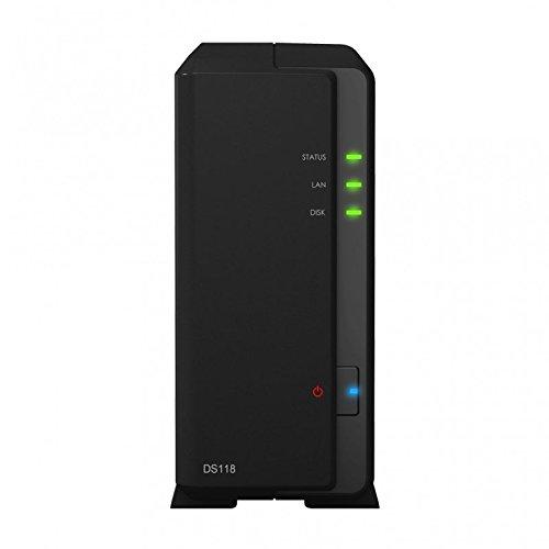 Preisvergleich Produktbild Synology DS118 1-Bay 6TB Bundle mit 1x 6TB IronWolf ST6000VN0033