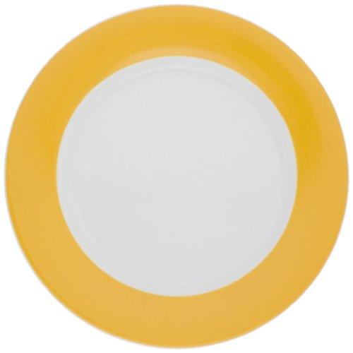 Kahla Pronto Teller, 25,4 cm, Orange / Gelb, 1 Stück