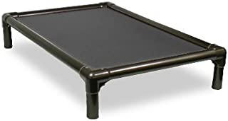 Kuranda Dog Bed - Chewproof Design - Walnut PVC - Indoor - Elevated - High Strength PVC - Easy to Clean - Dries Quickly - Heavy Duty Vinyl Fabric