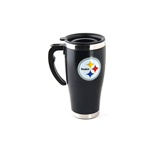NFL Football PITTSBURGH STEELERS Travel Mug - Taza térmica de café