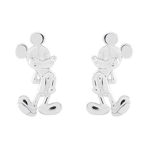 Peers Hardy Disney Mickey Mouse Sterling SLIRING STRY Pendientes
