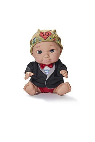 Juegaterapia Muñeco Baby Pelón, Diseñado por Corina, Juguete Solidario con Olor a Vainilla-20 x 10 x 20cm ARIAS SL