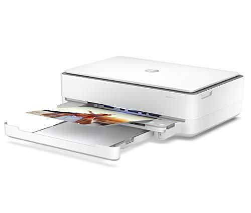 HP Envy 6032 5SE19B, Impresora Multifunción Tinta, Color, Imprime, Escanea y Copia, Wi-Fi, USB 2.0, HP Smart App, Incluye 5 Meses del Servicio Instant Ink, Blanca
