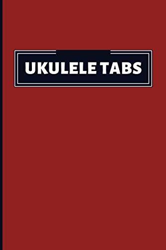 Ukulele Tabs: Write, Study And Learn To Play Ukulele. Chord Keeper Book