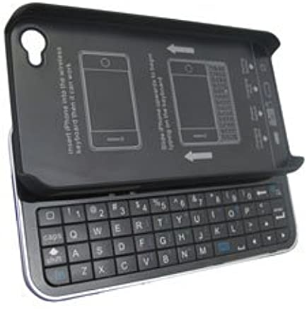 Amazon.com: Wireless Slide-Out Keyboard & Case for iPhone 4 Bluetooth: Cell Phones & Accessories