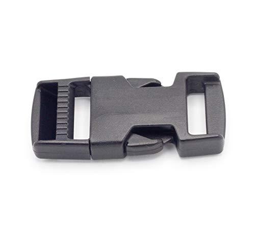 ITW Nexus Fibbia 20/mm Lato Rilascio Nero per Militare tattico fettuccia