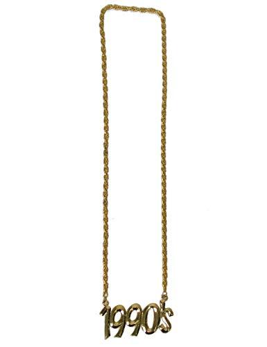 Funny Fashion 1990er-Halskette Accessoire Gold Einheitsgröße