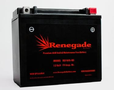 Personal Watercraft Battery; RG16CL-BS; Yamaha (1998, 1999, 2000, 2001, 2002, 2003, 2004, 2005, 2006, 2007, 2008) GP1300 WaveRunner / GP1200 WaveRunner / SV1200 WaveRunner; BTX16CL-BS, WP16CL-BS