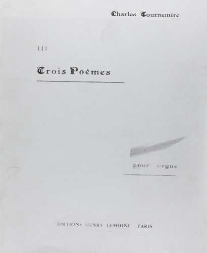 Poèmes (3) n°3