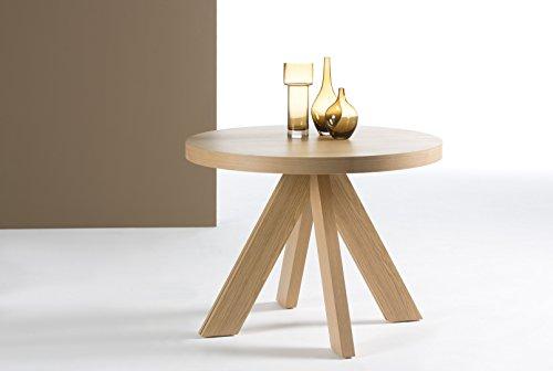 DECORACIÓN BELTRÁN Table à Manger Ronde: Collection Star 120–170x 78x 120