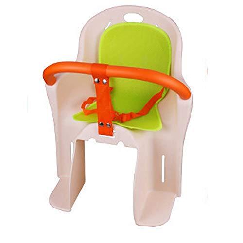 GONGMICF Seggiolino Posteriore per Bicicletta per Bambino,con Pedale Et Guardrail Seggiolino per Biciclette per Bambini,Installazione Facile,per Bici da Corsa MTB